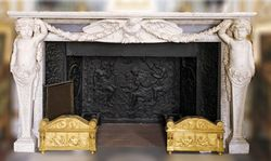 Emperor Room Chimneypiece, Fontainebleau